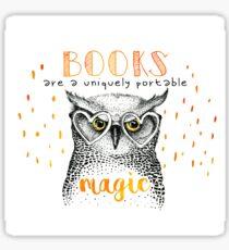 Book OWL Sticker