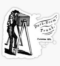 Woodward's Darkroom Trunk Sticker
