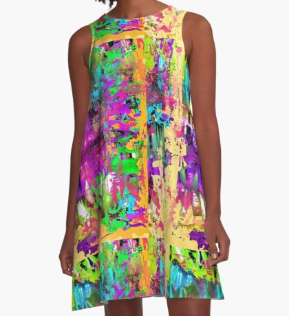 Caspian Summer A-Line Dress