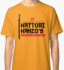 Camiseta clásica Versión japonesa de acero oscuro