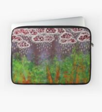 Partly Cloudy with Grey Eyes Laptop Sleeve