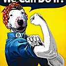 Lucy the Riveter - We Can Do It! by BTRI