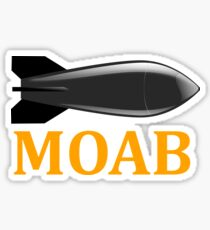 Bomb MOAB Sticker