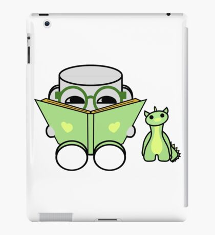 Yobo Yo & Deeogee Love to Read: O'BABYBOT Toy Robot 1.0 iPad Case/Skin