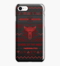 School of the Wolf iPhone Case/Skin
