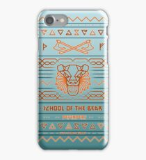 School of the Bear iPhone Case/Skin