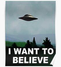 Die X-Dateien - Ich möchte es glauben Poster