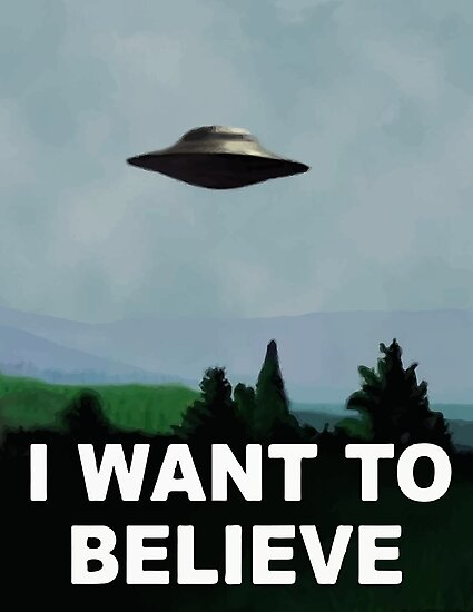The X Files - I want to believe  by Lunacitie