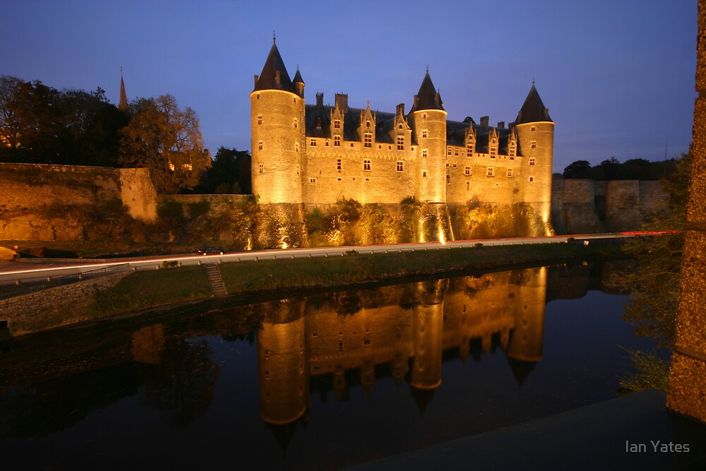 Josselin Chateau by Ian Yates