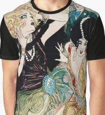 Nell Brinkley's 1920's Vivacious Adventurous 'Flapper' Girls Graphic T-Shirt
