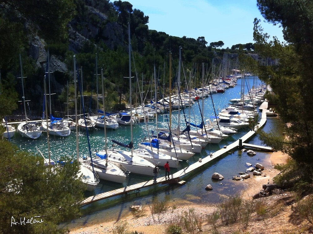 Port-Miou by AHELENE