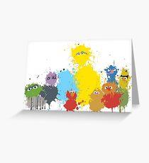 Sesame Splash Greeting Card