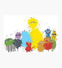 Sesame Splash Photographic Print