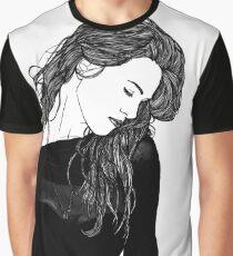 Katie McGrath Dramatic Graphic T-Shirt