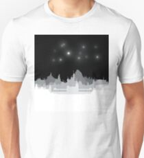 Fireworks Over The Magic Unisex T-Shirt