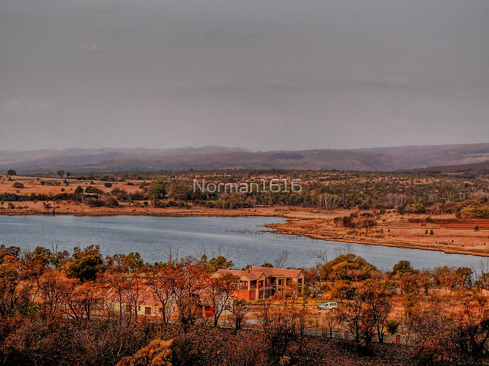 On top of the Magalies mountains by Norman1616