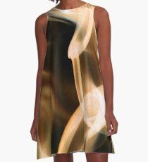 Recycled Smoke Art A-Line Dress