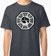 Dharma Initiative - The Swan Station Logo (Lost TV Show) Classic T-Shirt