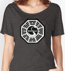 Dharma Initiative - The Swan Station Logo (Lost TV Show) Women's Relaxed Fit T-Shirt