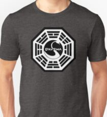 Dharma Initiative - The Swan Station Logo (Lost TV Show) T-Shirt