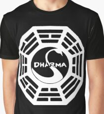 Dharma Initiative - The Swan Station Logo (Lost TV Show) Graphic T-Shirt