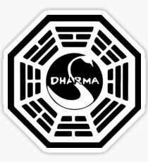Dharma Initiative - The Swan Station Logo (Lost TV Show) Sticker