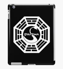 Dharma Initiative - The Swan Station Logo (Lost TV Show) iPad Case/Skin