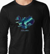 Iceland - Northern Lights Long Sleeve T-Shirt