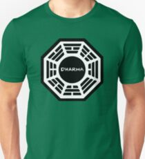 Dharma Initiative Logo (Lost TV Show) Unisex T-Shirt