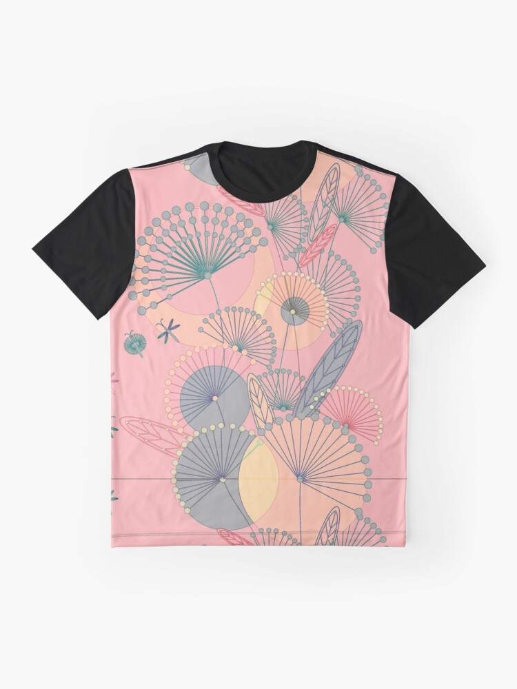 Alternate view of Dandelions flowers Graphic T-Shirt