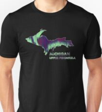 Michigan - Up - Northern Light T-Shirt