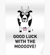 COW CARD 2 Poster