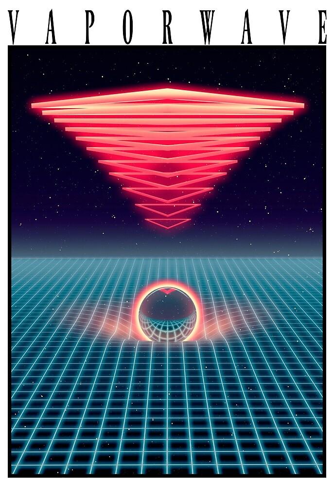 Retro Vaporwave design by moeyumi
