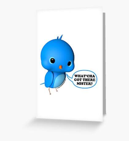 B.B. Bottoms - What'cha Got There Mister?!? Greeting Card