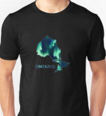 Ontario - Northern Lights Unisex T-Shirt