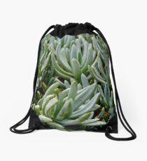 Pattern of Plants Drawstring Bag