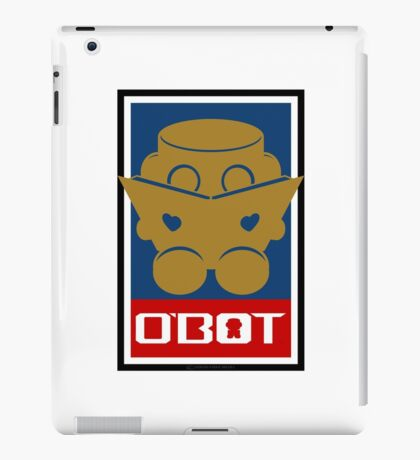 O'BOT: Love a Book (Gold) 2.0 iPad Case/Skin
