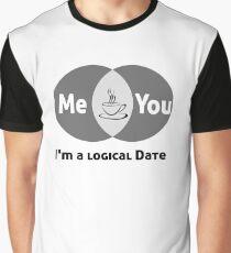 Venn Diagram Logical Date Graphic T-Shirt