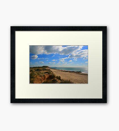 Hengistbury Skies Framed Print