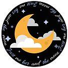 Nur ich sie und den Mond von InspiredByMusic
