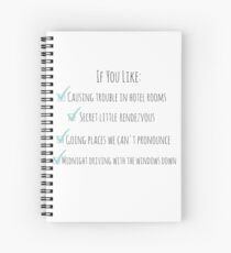 Perfect One Direction Spiral Notebook
