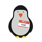 Luke Hemmings 5sos Pinguin von InspiredByMusic