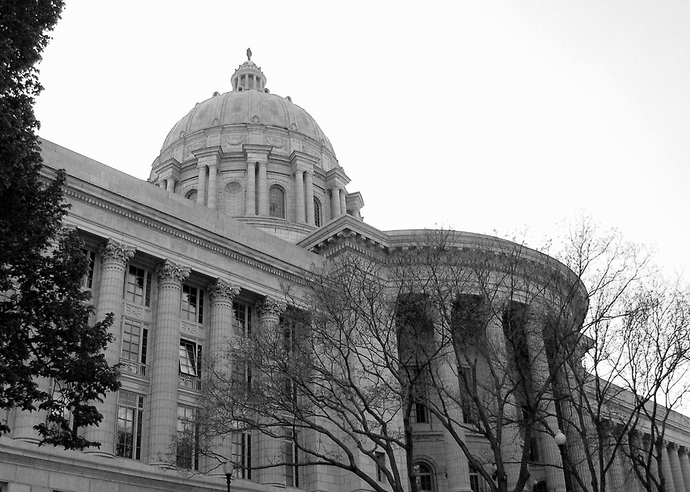 Missouri Capitol Building by Brion Marcum