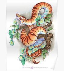 tiger snake Poster