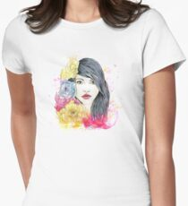 Spring Beauty Women's Fitted T-Shirt