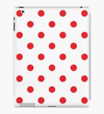 Polka dot fabric Retro vector iPad Case/Skin
