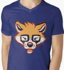 Fox Geek Men's V-Neck T-Shirt