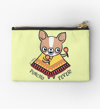 Poncho Fever Chihuahua Studio Pouch