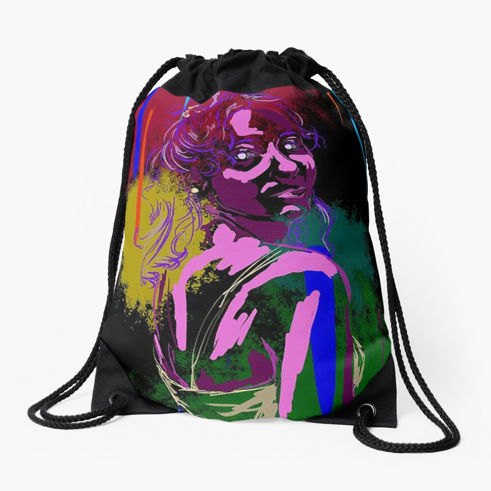 Princess By Madeleine Williams Drawstring Bag Front