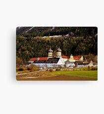 Cistercian Abbey of Stams North Tyrol Austria Canvas Print